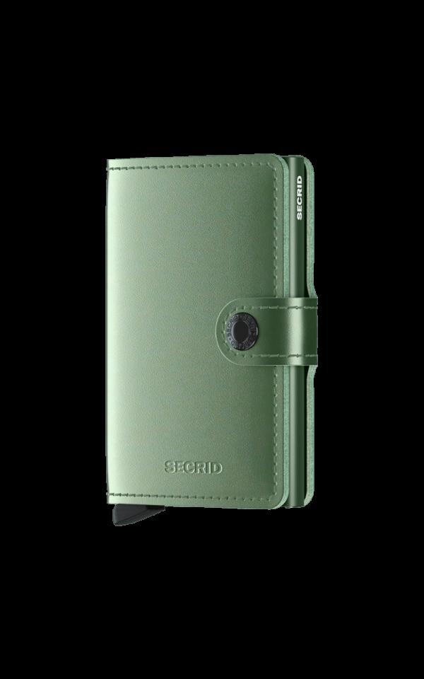Miniwallet Metallic Green