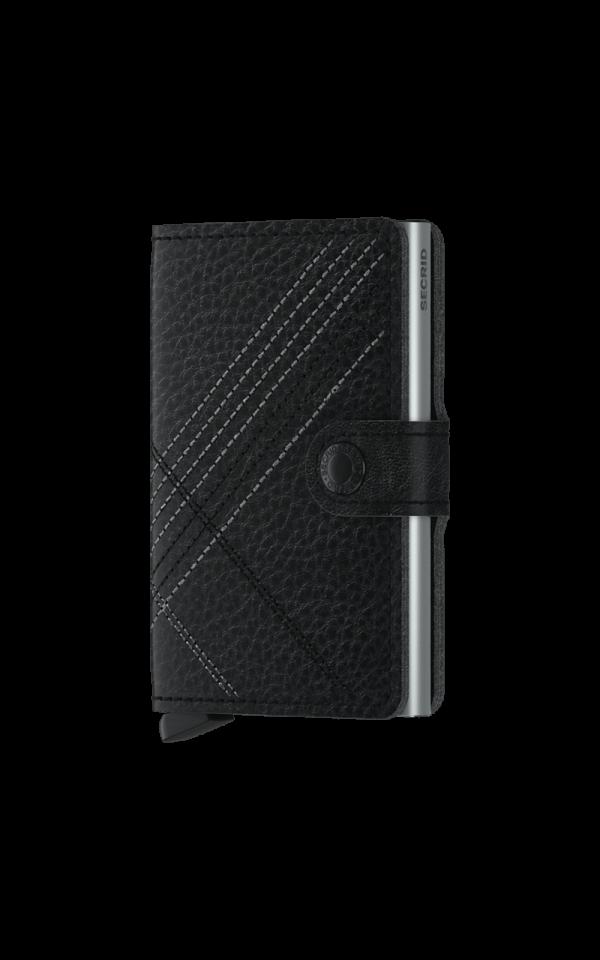 Miniwallet Stitch Linea Black